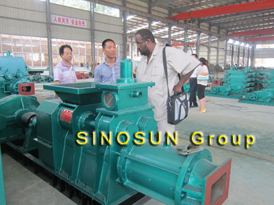 client visited block making machine workshop
