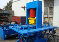 150T hydraulic block forming machine
